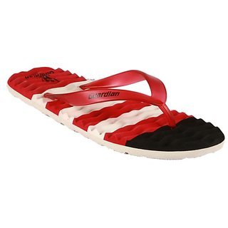 Guardian Mens Red Flip Flops
