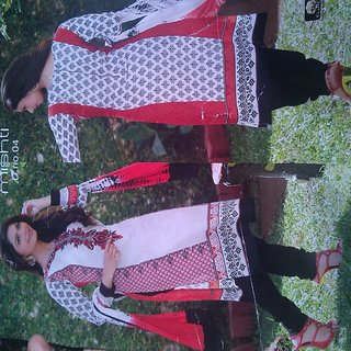 pakistani style embroidered (Unstitched)
