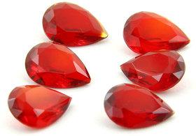 6PC Red Quartz Loose Gemstone