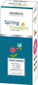 Spring Flower Anti Ageing Face Wash, Fairness Face Wash, Glow Treatment