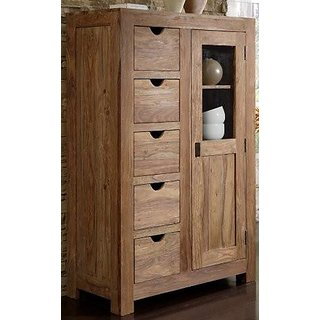 NEW WAVE CABINET 5 DRAWER 1 DOOR