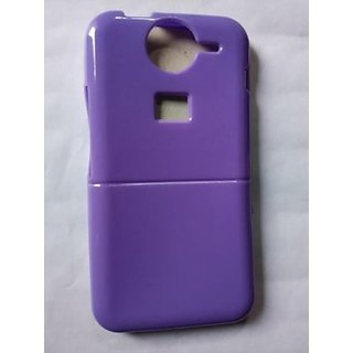 wholesale dealer dc6af c445b Nice Look Glossy PREMIUM Glossy Micromax Bolt A82 Back Cover-Purple