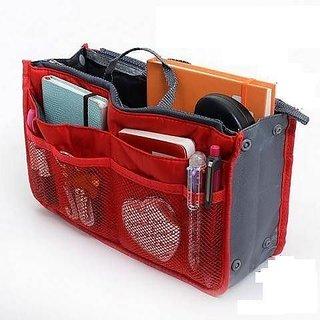Connectwide - Multipurpose HandBag Organizer -Red