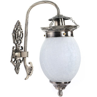 Chandni Crackle Oval Wall Hanging Lantern