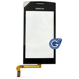 Original Touch Screen Digitizer Glass For Nokia 500 N500 Black