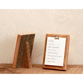 To-Do List Holder - Picture Frame - Reclaimed Wood - Note Pad