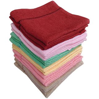 Super Soft Face Towels Set Of 10