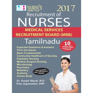 TN Medical Services Recruitment Board MRB Recruitment for Nurse Exam Book