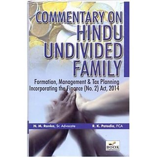 Book Corporation Commentary On Hindu Undivided Family By N M Ranka , R K Patodia Edition : October 2014