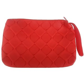 Viva Fashions Multipurpose Cosmetic/accessories bag/Jewellery Pouch (Red)
