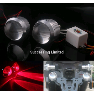 STROBE LIGHT FOR ENFILED 1pair RED LED Light