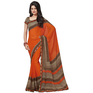 Branded Designer Georgette Lace Border Catalog Saree