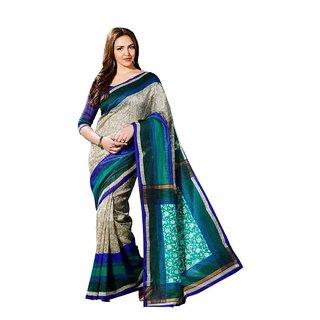 Branded Designer Bhagalpuri silk Catalog Saree