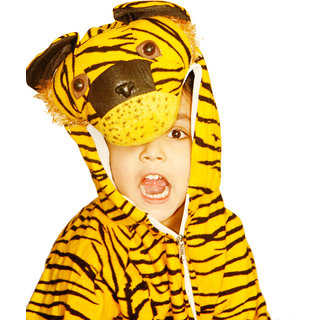 Tiger Costume for Kids Fancy Dress Competition