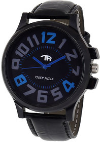 Tigerhills Blue Black  Black Mens Watch