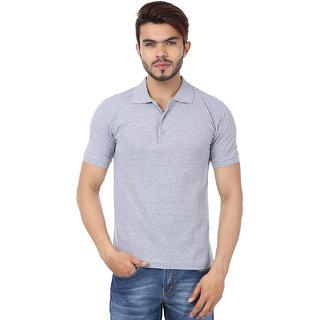 Concepts Plain Grey Polo Neck T-Shirt