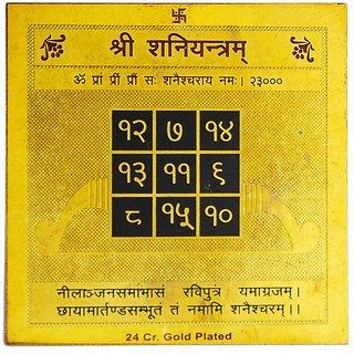 Jewelswonder Prabhu Drishti Shani Yantram