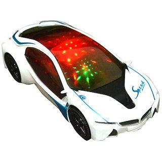 Racing 3D Car with Light & Sound