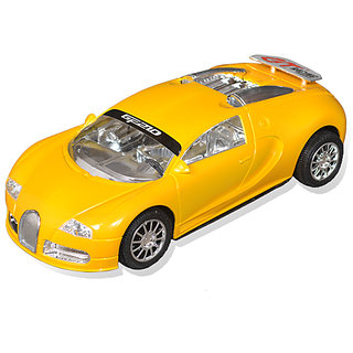 Racing Car (GT) with Lights,Sound & Pull Back Function