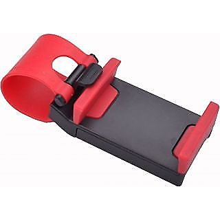 CAR STEERING MOBILE HOLDER - WHEN YOU USE YOUR PHONE TO NAVIGATE