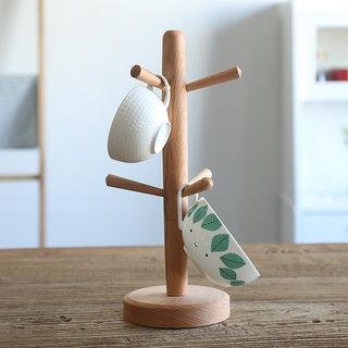 Handmade Wooden Tea Cup holders Handcrafted