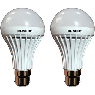 Cool White LED Bulb 9W (Pack of 2) Image