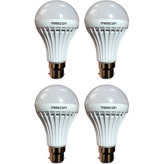 Cool White LED Bulb 9W (Pack of 4) Image