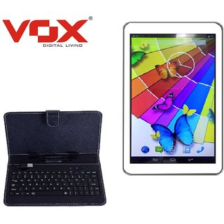 Vox V105 Android Kitkat calling HD Tablet With keyboard