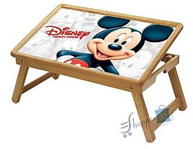 Mickey Mouse Multipurpose Foldable Wooden Study Table For Kids - Study 1011