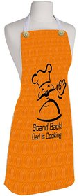 meSleep Stand Back Dad Cooking  Kitchen Apron
