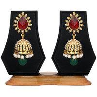 Zaveri Pearls Indian Jhumki Earring For Women -ZPFK282