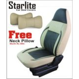 Koleos Branded Car Seat Covers Art Leather Starlite With Free Neck Rests Worth Rs 599