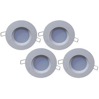 Bene Downlight 3w, Color Of Led: White (Pack of 4 Pcs) Ceiling Lamp