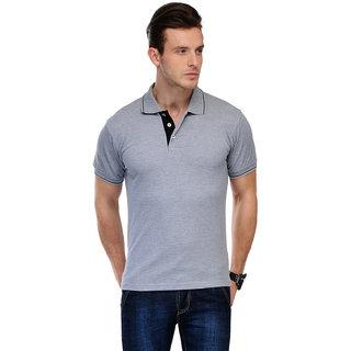 Scott International Gold Plain Polo Tshirts For Women