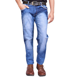 British Terminal blue Sky Wash faded Jeans