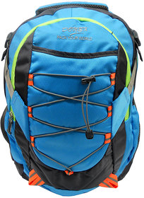 Donex Blue & Grey Color Stylish Light Weight 28 Litre Laptop Backpack RSC00668