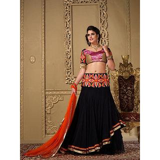 Panth Studio Elegant Semi Stitched Bridal Lehanga Choli