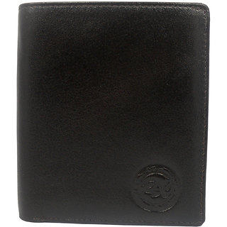 Rsc Genuine Leather Dark Brown Color Bifold Executive Wallet RSC00542