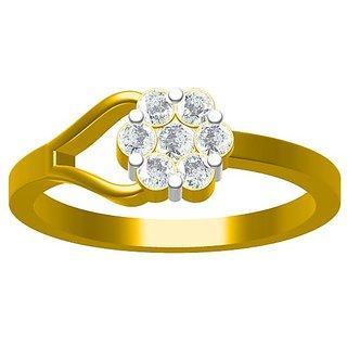 Sakshi Jewels 2.63 Gram 18K Gold 0.33 Carat VVS-FG Diamond Ring. (ShopSR555)