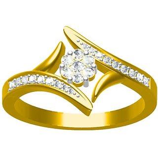 Sakshi Jewels 3.15 Gram 18K Gold 0.25 Carat VVS-FG Diamond Ring. (ShopSR473)