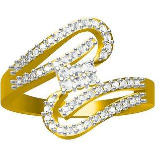 Sakshi Jewels 4.16 Gram 18K Gold 0.45 Carat VVS-FG Diamond Ring. (ShopSR574)