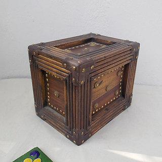 Antique Brass Artwork Box