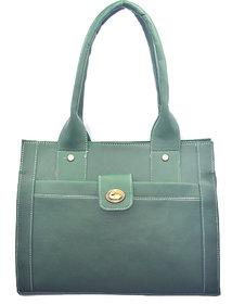 Lady Queen Green Shoulder Bag