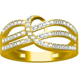 Sakshi Jewels 3.51 Gram 18K Gold 0.43 Carat VVS-FG Diamond Ring