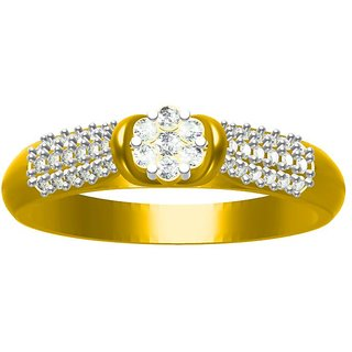 Sakshi Jewels 3.04 Gram 18K Gold 0.30 Carat VVS-FG Diamond Ring