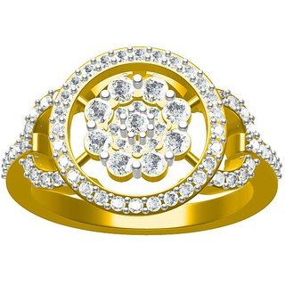 Sakshi Jewels 4.63 Gram 18K Gold 0.84 Carat VVS-FG Diamond Ring