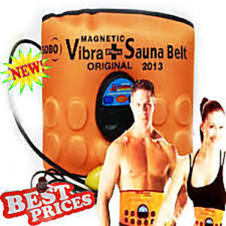 3 IN ONE MAGENETIC VIBRA + SAUNA BELT WITH CORDLESS VIBRATING