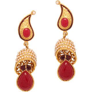 Vendee Fashion Unique Dangler Earrings 8077