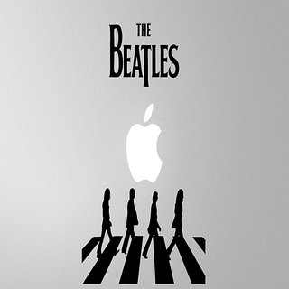 10 am Beatles Decal