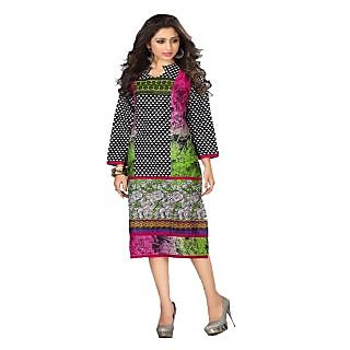 Newly trends cotton printed kurthi